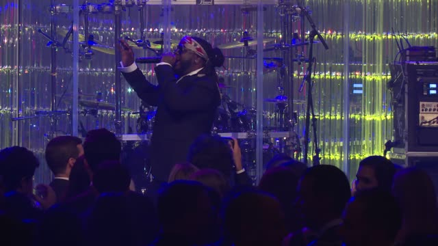 Pain performs at Angel Ball 2017 at Cipriani Wall Street on October 23 2017 in New York City