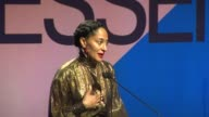SPEECH Tracee Ellis Ross at 9th Annual ESSENCE Black Women In Hollywood Luncheon in Los Angeles CA