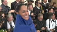 Tracee Ellis Ross at 'Rei Kawakubo/Comme des Garcons Art Of The InBetween' Costume Institute Gala Arrivals at The Metropolitan Museum of Art on May 1...