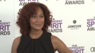 Tracee Ellis Ross at the 2012 Film Independent Spirit Awards Arrivals on 2/25/12 in Santa Monica CA United States