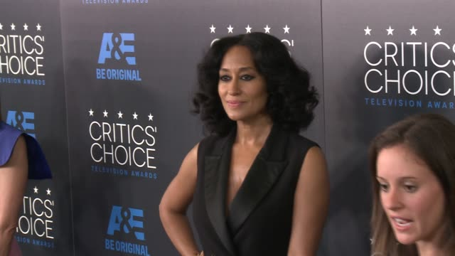 Tracee Ellis Ross at the 2015 Critics' Choice Television Awards at The Beverly Hilton Hotel on May 31 2015 in Beverly Hills California