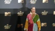 Tracee Ellis Ross at the 2017 MTV Movie TV Awards Red Carpet Arrivals on May 07 2017 in Los Angeles California