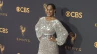 Tracee Ellis Ross at the 69th Annual Primetime Emmy Awards at Microsoft Theater on September 17 2017 in Los Angeles California