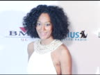 Tracee Ellis Ross at the Clive Davis' 2005 PreGrammy Awards Party arrivals at the Beverly Hilton in Beverly Hills California on February 12 2005