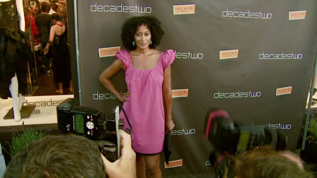 Tracee Ellis Ross at the Decadestwo Retailer Celebrates Opening of Expanded Space at decadestwo in Los Angeles California on July 18 2007