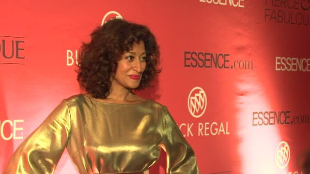 Tracee Ellis Ross at the Essence Magazine 40th Anniversary Fierce Fabulous Awards Luncheon at New York NY