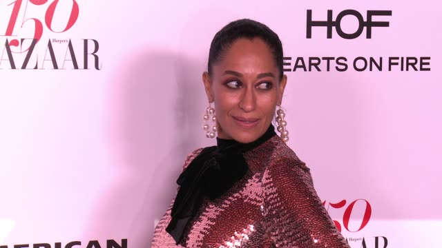 Tracee Ellis Ross at the Harper's BAZAAR Celebrates 150 Most Fashionable Women at Sunset Tower on January 27 2017 in West Hollywood California