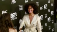 Tracee Ellis Ross at the PreBET Awards Dinner and Party at Boulevard 3 in Los Angeles California on June 25 2007