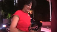 Tracee Ellis Ross greeting fans at ELLE's Women In Television Celebration at the Sunset Tower in West Hollywood in Celebrity Sightings in Los Angeles