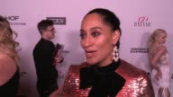 INTERVIEW Tracee Ellis Ross on what brings her out what being fashionable/stylish means to her and who her style icons are at the Harper's BAZAAR...