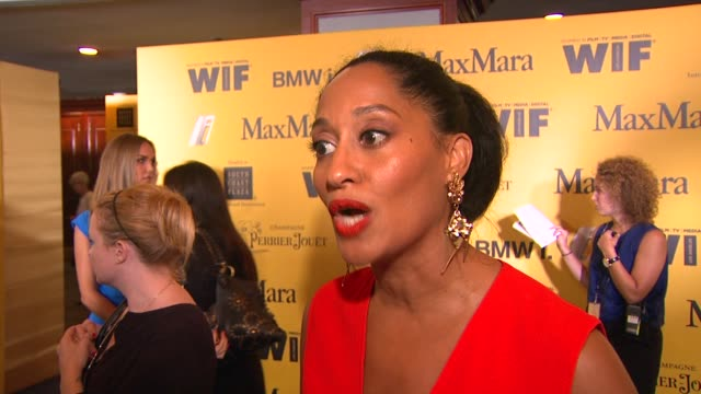 INTERVIEW Tracee Ellis Ross on why she wanted to host the ceremony why WIF is important in today's industry and her advice for young women hoping to...