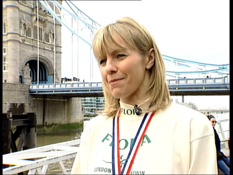 Tracey Morris selected for Olympics after London marathon ITN Taylor chatting to Morris Tracey Morris interviewed SOT I knew there were people ahead...