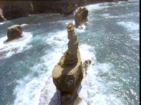 Track around Twelve Apostles sea stack, Victoria, Australia
