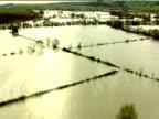 Track forward over flooded fields and farmland Nov 00