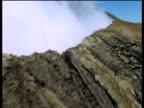 Track over slopes of active volcano Mount Kilauea Hawaii