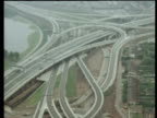 Track over Spaghetti Junction motorway network on day of opening