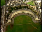 Track right over Royal Crescent to The Circus