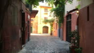 Tracking picturesque streets of Trastevere, Rome