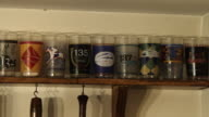 tracking shot Collection of Kentucky Derby glasses