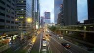 Tracking shot :Hongkong Crossroad