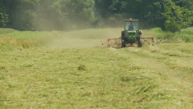 HD: Traktor Zetten Gras