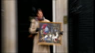 Tracy Emin petitions government over Titian paintings Downing Street photocall ENGLAND London Downing Street PHOTOGRAPHY *** Tracey Emin along to...
