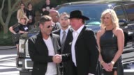 Tracy Lawrence arriving to the 52nd Academy Of Country Music Awards in Celebrity Sightings in Las Vegas