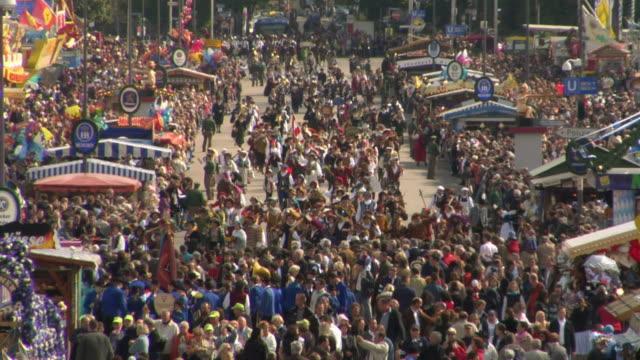 LS HA Traditional Bavarian procession, Oktoberfest, Munich, Germany