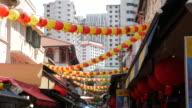 Traditionele Chinees Nieuwjaar lantaarn