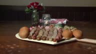 WGN Traditional German Wurst Board in Prost a German Restaurant in Chicago on September 23 2015