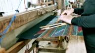Traditionelle hausgemachte Baumwolle
