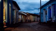 Traditional houses in the colonial town of Trinidad, Cuba