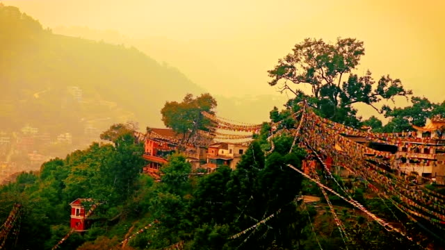 Traditional Nepalese landscape
