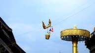 HD: Traditional Thai culture pray worship buddha chiang mai north thailand