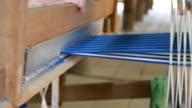 Traditional Thailand Weaving silk
