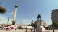 Trafalgar Square Olympic London General Views on July 21 2012 in London England