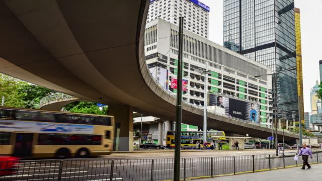 traffic at Hong kong.4K
