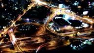 Verkehr in der Nacht