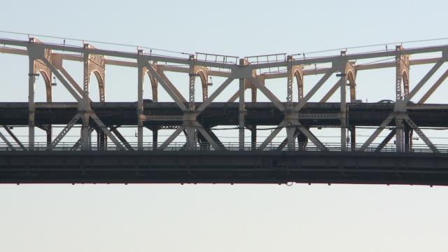 MS Traffic at queensboro bridge / New York, United States