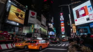 Traffic at Times Square, New York City