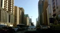 Traffic in Abu Dhabi