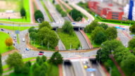 Traffic in the city, Tilt Shift