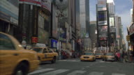 WS Traffic in Times Square / New York City, New York, USA