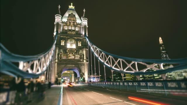 Traffic in Tower Bridge