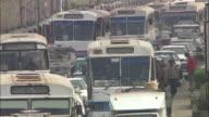 CU, Traffic jam, Cairo, Egypt