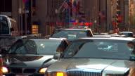 MS, Traffic jam, New York City, New York, USA