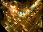 Traffic junction at night