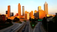 Der führenden in der Innenstadt von Atlanta, Georgia