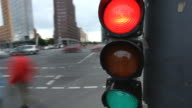 traffic light - time lapse