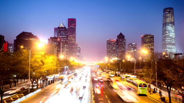 T/L of Traffic of Beijing Central Business District